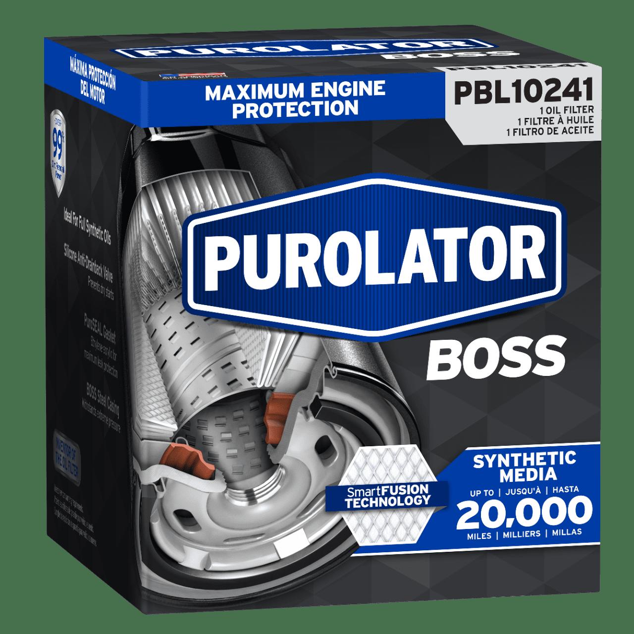 Purolator Boss Oil Filter